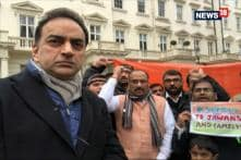 Protest Against Pakistan Break Out in London For Supporting  Terror Groups