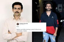 Kartik Aaryan's New Avatar For Upcoming Film is Reminding Twitterati of Their College Days
