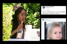 'Underage' Malia Obama Holding a Bottle of Wine Sparks Online Debate