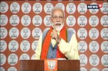 India Won't Stop At Any Cost, Says Modi in Address to BJP Workers
