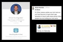 Australian With 'Kundigraber' Surname Gets a Friendly Advice from Kerala Man