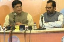 Piyush Goel Terms Rafale 'Non-issue', Says it Won't Harm BJP in Elections