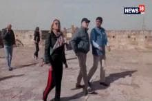 Prince Of Monaco Visits Mehrangarh Fort In Jodhpur