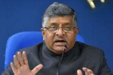 Union Minister Ravi Shankar Prasad Refuses to Comment on Recent EC Controversy