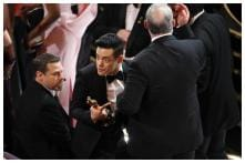 Rami Malek Slips Off the Steps at The Oscars, Paramedics Come to Best Actor's Assistance
