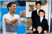 Novak Djokovic's Throwback Photo with Brothers Dressed in Identical Clothes is Cuteness Goals
