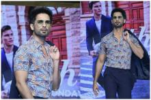 Shahid Kapoor on How His Mood Dictates His Style Statement