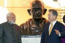 South Korean President Hopes Gandhi's Thinking Can Lead to Peace And Prosperity in Asia and Beyond