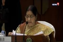 'Action Was Necessary As Pakistan Refused To Rein In Terror' Says Sushma Swaraj