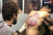 Bikaner Youth Pays Tribute to 71 Martyred Soldiers By Tattooing Their Names on His Body
