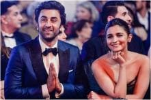 Alia Bhatt Declares Love for Ranbir Kapoor at Awards Show and He Can't Stop Blushing, Watch Video