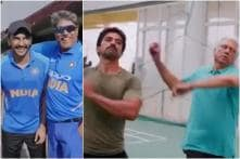 Ranveer Singh Learns Tricks of the Trade from Kapil Dev at '83 Sets, See Video