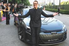 Avengers Endgame Premiere: Iron Man Robert Downey Jr. Shows up in Audi e-tron GT - Watch Video