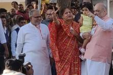 BJP President Amit Shah & Family Cast Their Votes