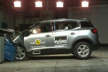 Upcoming Citroen C5 Aircross SUV Gets 4-Star Euro NCAP Crash Test Rating