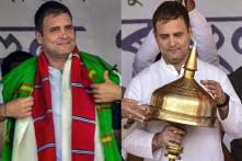Congress President Rahul Gandhi's Public Rally in Assam