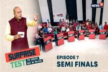 Surprise Test - Coolest Quiz on Politics | The Thrilling Semi-Finals