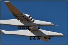 In Pictures: World's Largest Aeroplane Takes First Flight