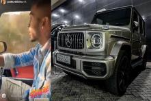 Hardik Pandya Drives His New Mercedes-AMG G63 SUV Worth Rs 2.19 Crore - Watch Video