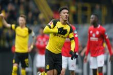 Jadon Sancho Becomes Youngest Ever Dortmund Player to Reach 10 Goals in One Season
