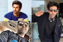 Ranbir Kapoor, Abhishek Bachchan, Kartik Aaryan Sweat it Out on Football Field, See Video