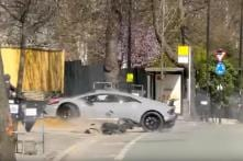 Driver Cries after Crashing Rs 4 Crore Lamborghini Huracan Performante Supercar – Watch Video