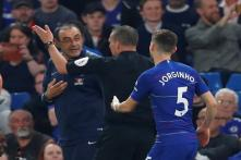 Premier League: Maurizio Sarri Sent Off in Chelsea's Frustrating 2-2 Draw With Burnley