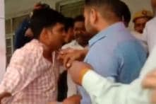 BJP Workers Beat Up Moradabad Poll Officer For Asking Voters to Press 'Cycle' Button
