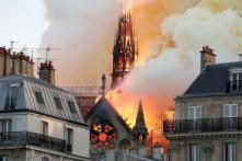 Paris' Notre Dame Cathedral Devastated in Ferocious Blaze, Fire Officials Say 'Not Sure if it Can be Stopped'