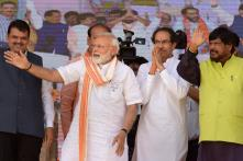 PM Modi & Uddhav Thackeray's Joint Election Rally in Latur