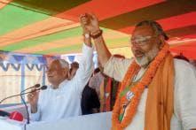 Nitish Kumar Campaigns for Giriraj Singh, Takes Potshots Against Kanhaiya Kumar