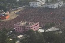 Pictures From PM Modi's Election Rally in Ranaghat, West Bengal