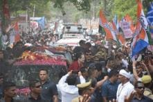 Pictures From Sonia Gandhi's Roadshow in Rae Bareli