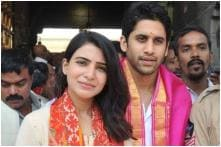Majili: Ahead of the Film's Release Samantha Akkineni and Naga Chaitanya Offer Prayers at Tirupati