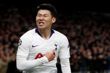 Champions League: Son Gives Tottenham 1st Leg Win Over Manchester City But Kane Injured
