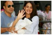 New Mother Surveen Chawla Spotted With Baby Girl for the First Time, See Pics
