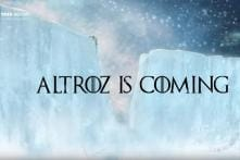 Game of Thrones Inspired Teaser Released for Upcoming Tata Altroz Hatchback - Watch Video