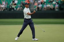 Golf: Tiger Woods Commands Spotlight at Augusta National