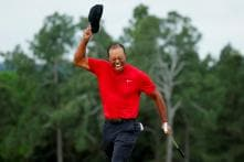 Epic Masters Win a Family Affair For Tiger Woods as Dad And Son