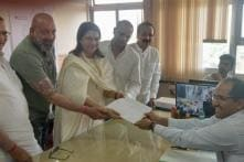 Urmila Mantondkar, Priya Dutt File Nomination for Lok Sabha Elections in Mumbai