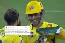 Dhoni Smiling and Obliging to Imran Tahir's DRS Request Has Left Fans in Awe