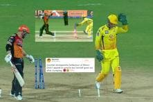 David Warner Walking off Immediately After Dhoni Dislodges Bails Has Stumped Many