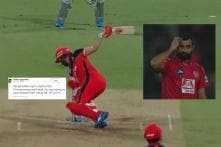 AB de Villiers Hit an Outrageous No-Look Six and it is 'Beyond Science'
