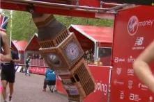 UK Man Dressed as 'Big Ben' Runs 41 kilometers, Raises Over 4 Lakh for Alzheimer Research