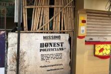 'Honest Politicians Missing? Think of NOTA': Hyderabad Artist Couple's Unique Campaign
