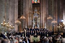 With No Cathedral to Go to, Parisians Pray For Notre-Dame's Swift Restoration at Smaller Catholic Church