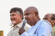 Deve Gowda Declares Chandrababu Naidu PM Face of Regional Partners, Andhra CM Junks Suggestion