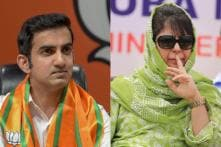 'Take Your Aggression to the Field': Mehbooba Mufti Blocks Gautam Gambhir After Twitter Spat
