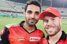 IPL 2019 | Bhuvneshwar Turns Cameraman for Warner's SRH Farewell