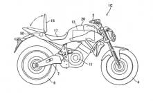 Yamaha Electric Motorcycle in the Works, Patent Suggests Potential Production Model